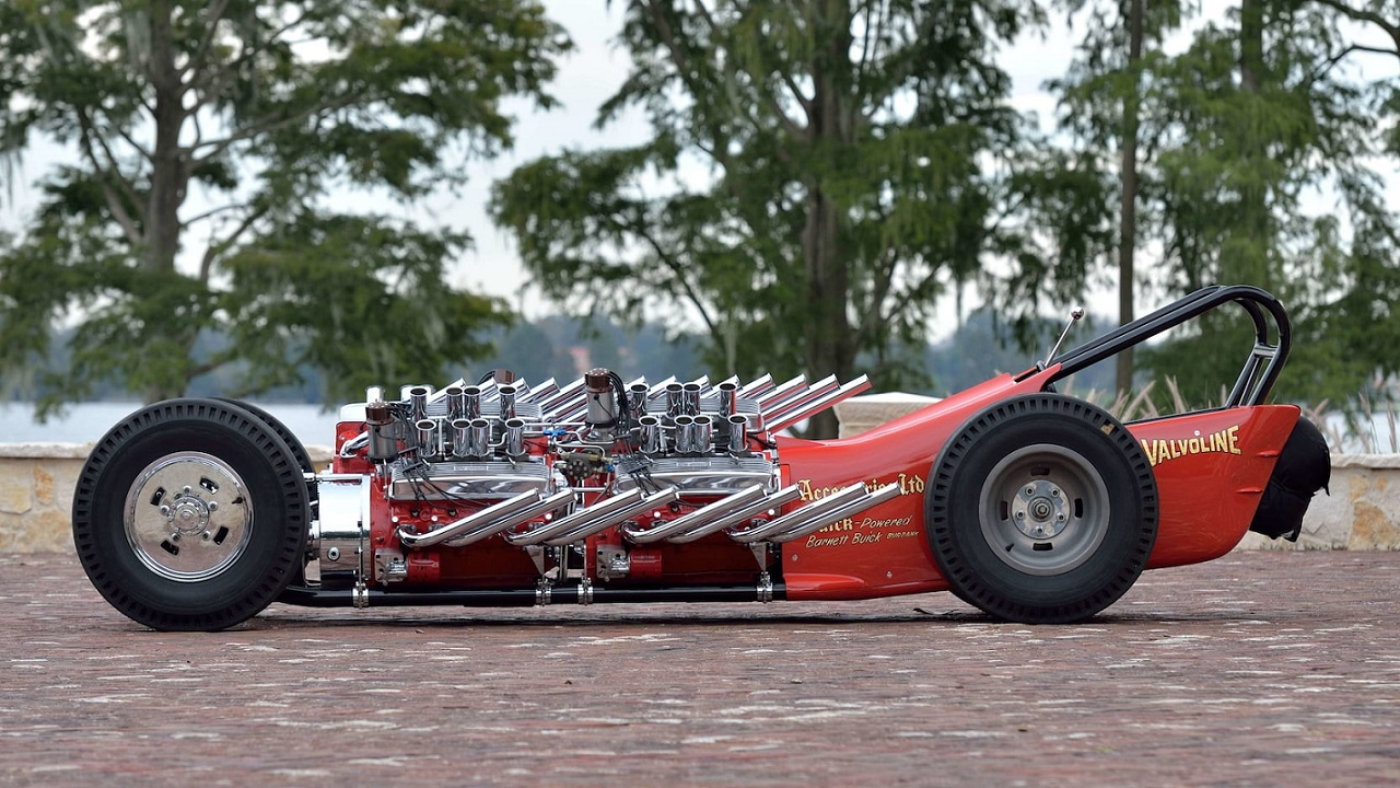 "2007 Showboat Slingshot Dragster - Comme le ""H"" de Hawaii... 36"