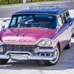 '58 Dodge Suburban Spectator... Du custom d'origine.