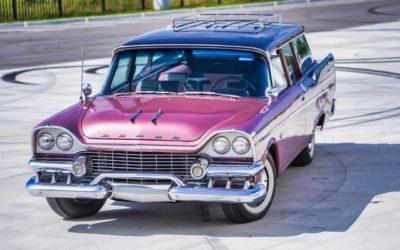 '58 Dodge Suburban Spectator… Du custom d'origine.