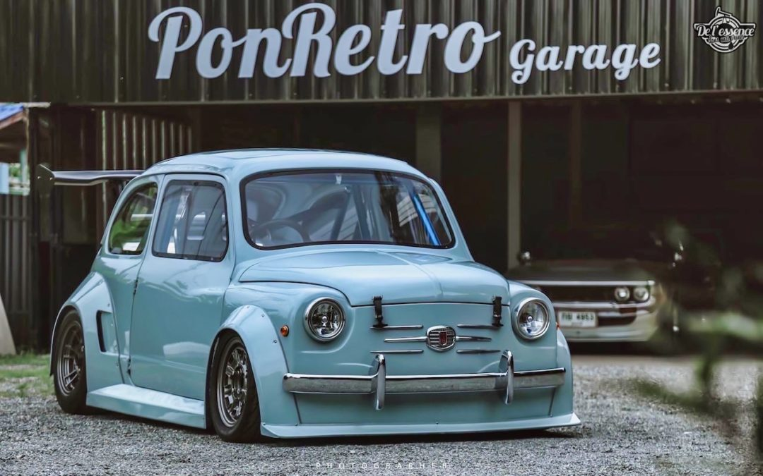 Fiat 600 Widebody by PonRetro AutoPart – Infernal !