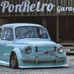 Fiat 600 Widebody by PonRetro AutoPart - Infernal !