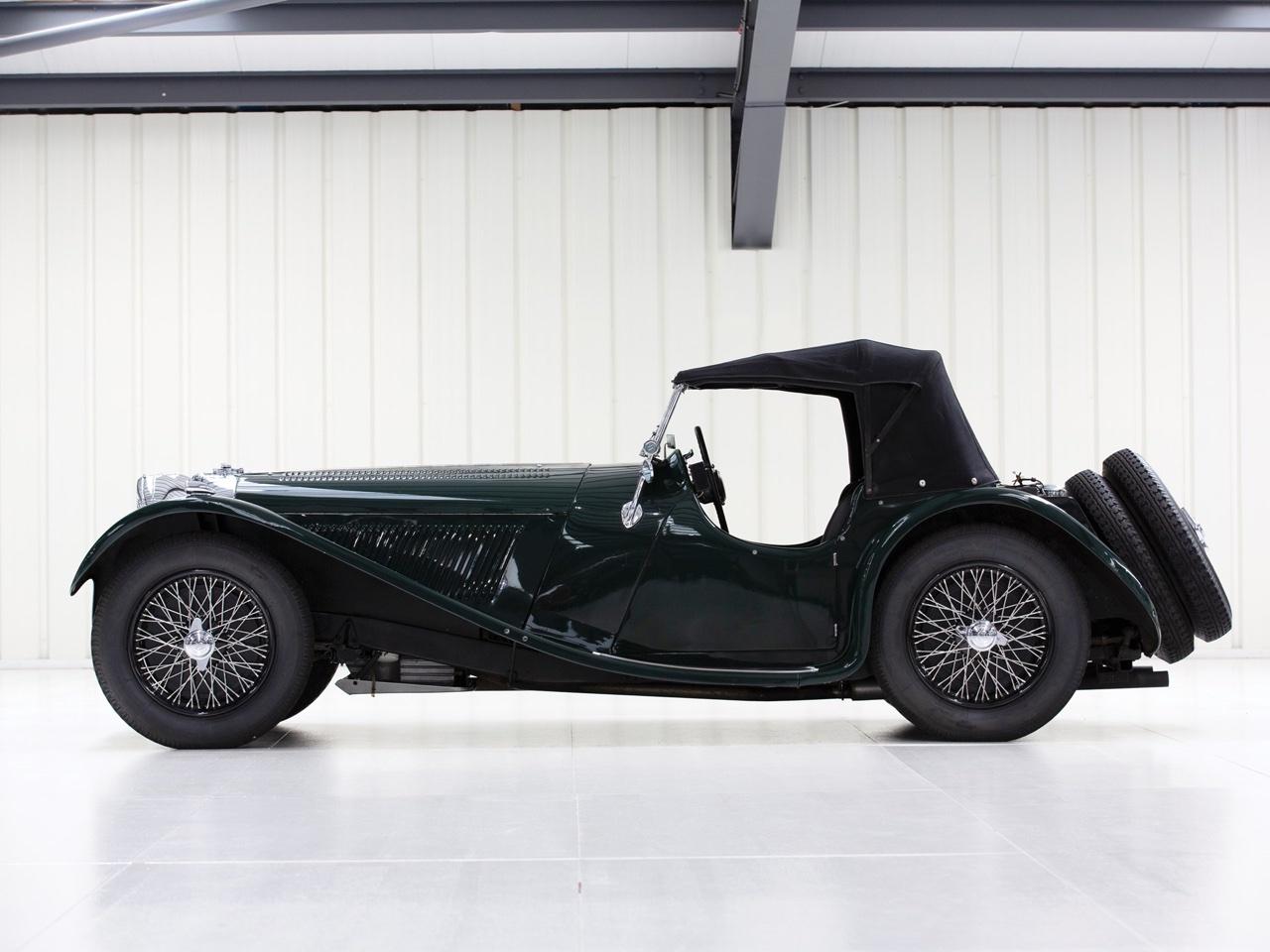 Jaguar SS 100... Parce qu'il y a un début à tout. 3
