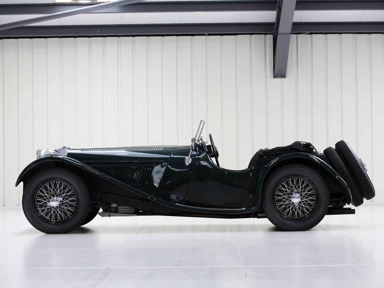 Jaguar SS 100... Parce qu'il y a un début à tout. 2