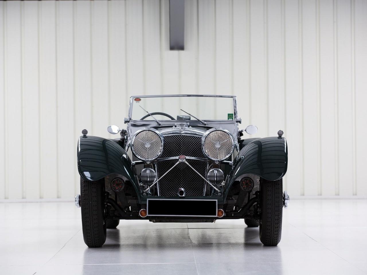 Jaguar SS 100... Parce qu'il y a un début à tout. 9