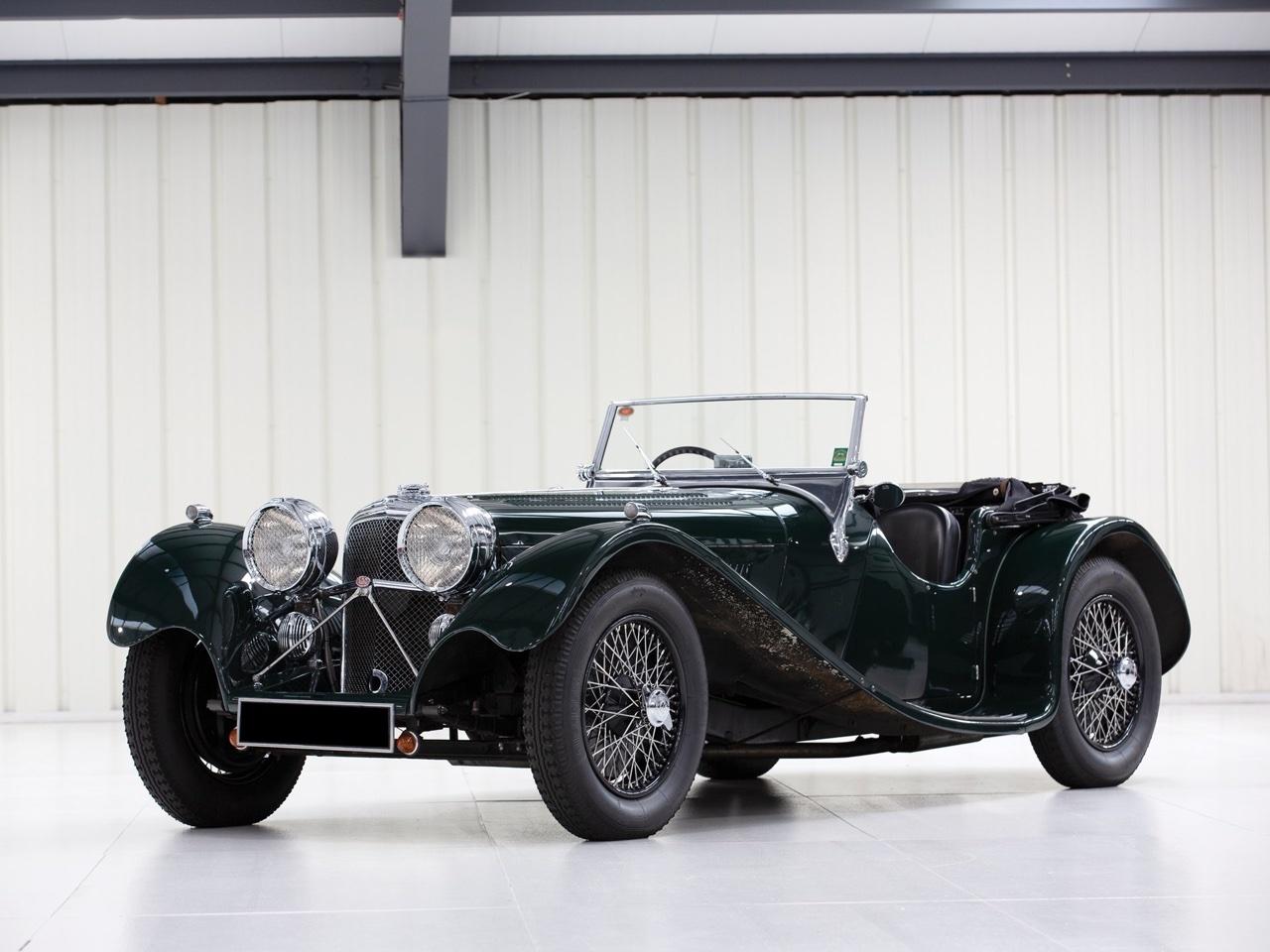 Jaguar SS 100... Parce qu'il y a un début à tout. 17
