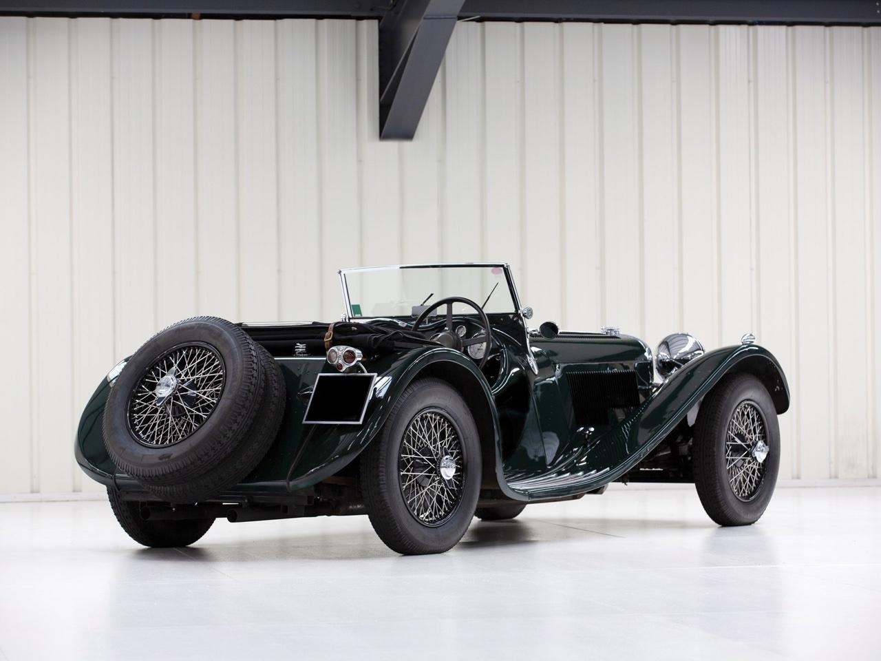 Jaguar SS 100... Parce qu'il y a un début à tout. 15