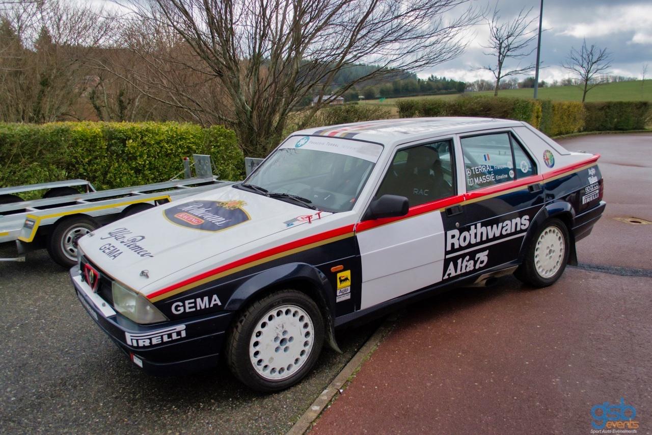 Alfa GTV6 et Alfa 75 V6 Gr.A... Libérez le Busso ! 7