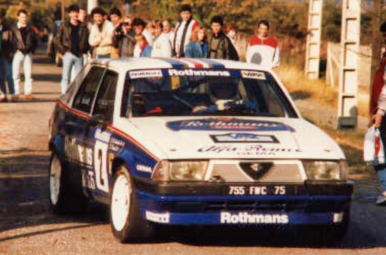 Alfa GTV6 et Alfa 75 V6 Gr.A... Libérez le Busso ! 6