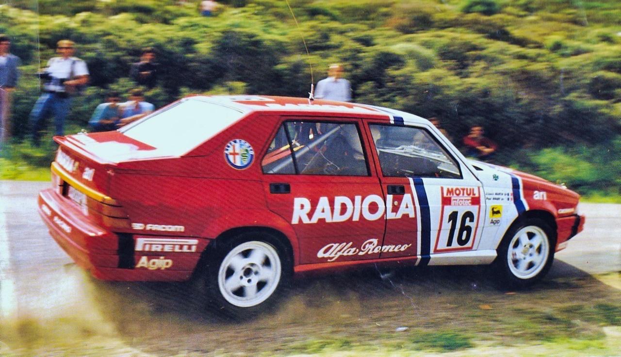 Alfa GTV6 et Alfa 75 V6 Gr.A... Libérez le Busso ! 5