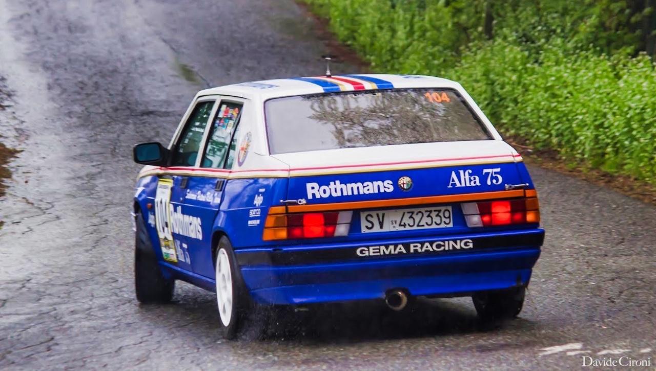 Alfa GTV6 et Alfa 75 V6 Gr.A... Libérez le Busso ! 8
