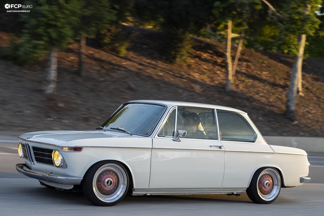 '72 BMW 2002 : M20 + Turbo = 400 ch ! 8
