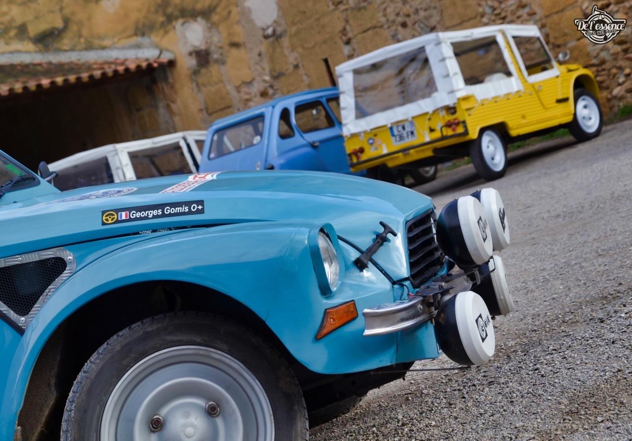 '76 Citroën Dyane... Prête pour le Monte Carlo ! 1