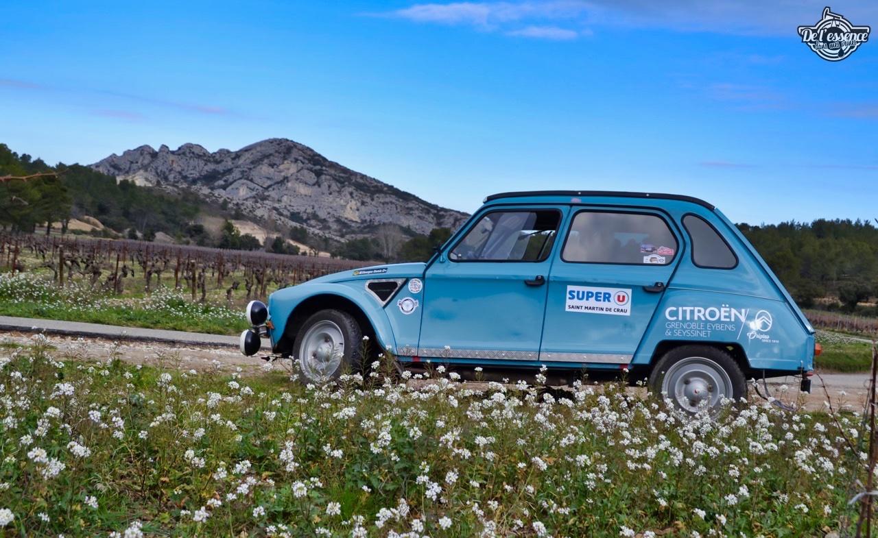 '76 Citroën Dyane... Prête pour le Monte Carlo ! 22