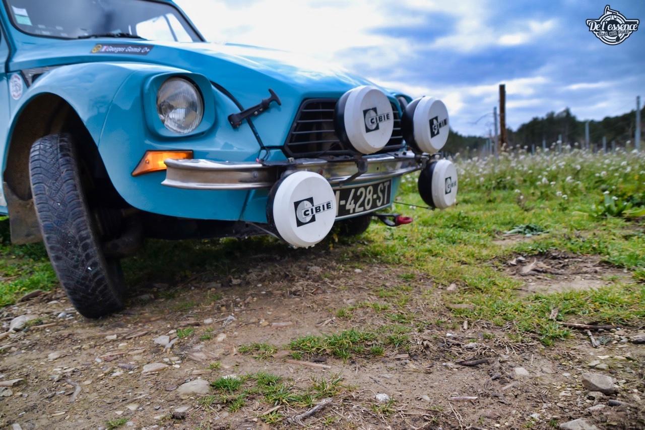 '76 Citroën Dyane... Prête pour le Monte Carlo ! 19