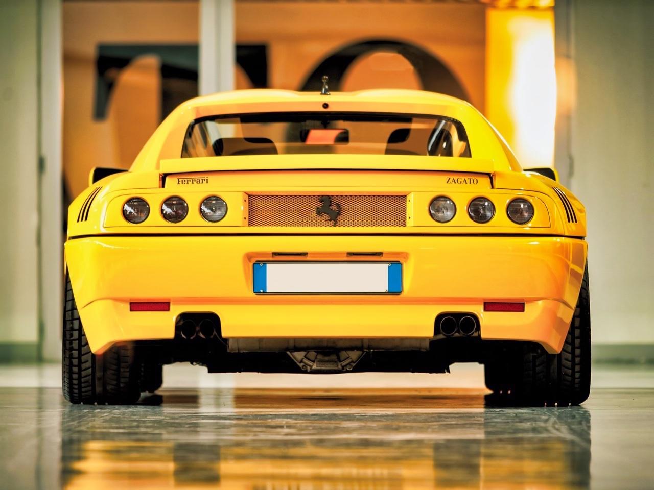 '90 Ferrari 348 TB Zagato Elaborazione... C'est du style ! 5