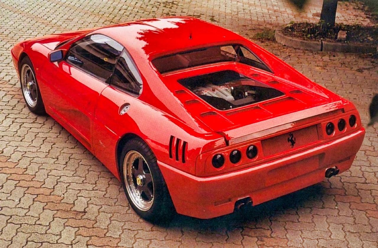 '90 Ferrari 348 TB Zagato Elaborazione... C'est du style ! 8