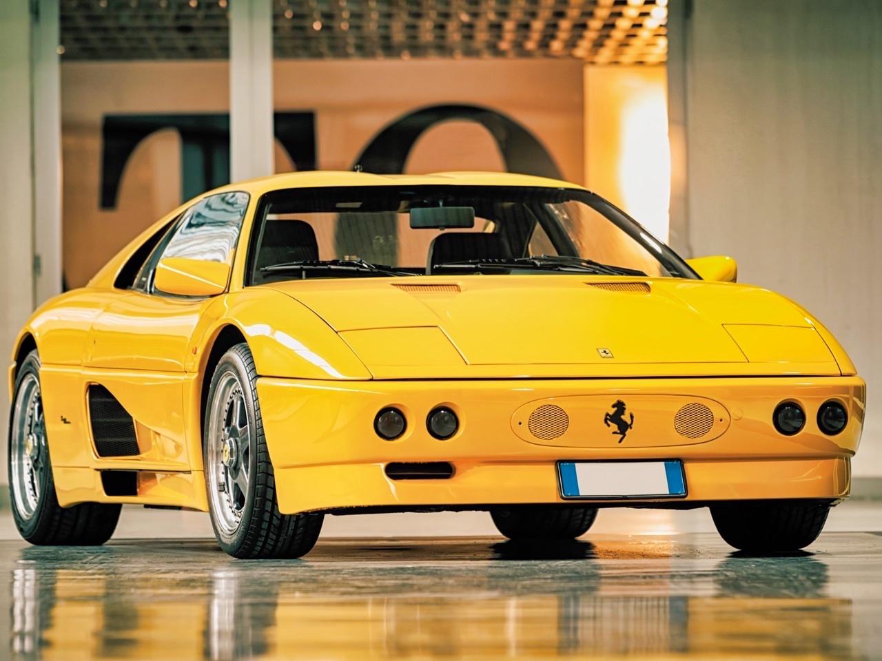 '90 Ferrari 348 TB Zagato Elaborazione... C'est du style ! 12