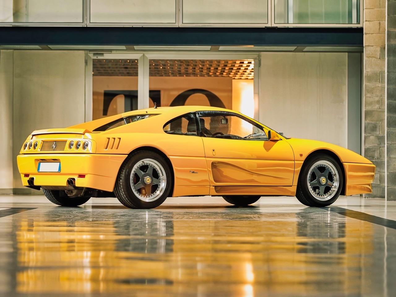 '90 Ferrari 348 TB Zagato Elaborazione... C'est du style ! 18