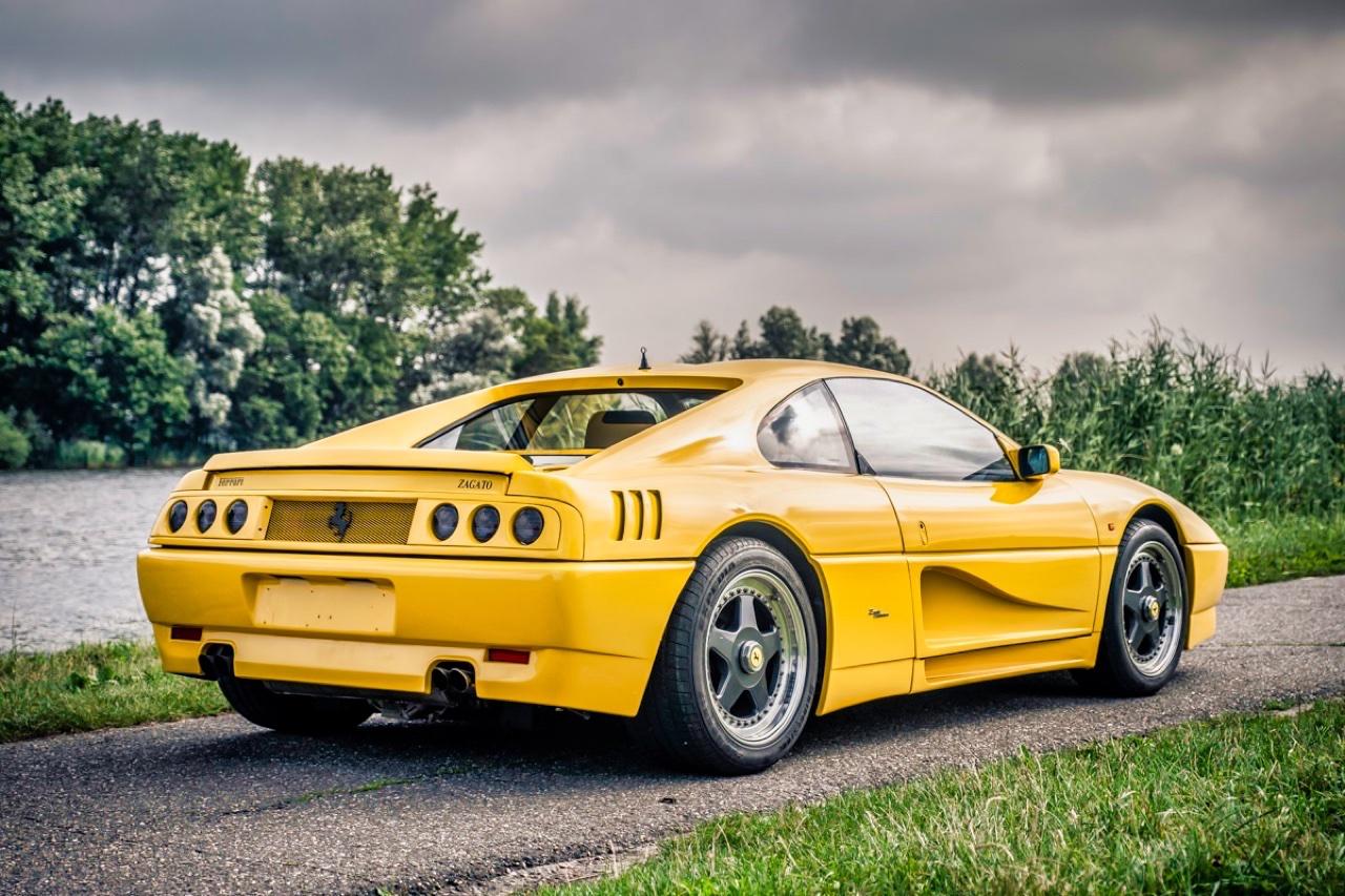 '90 Ferrari 348 TB Zagato Elaborazione... C'est du style ! 2