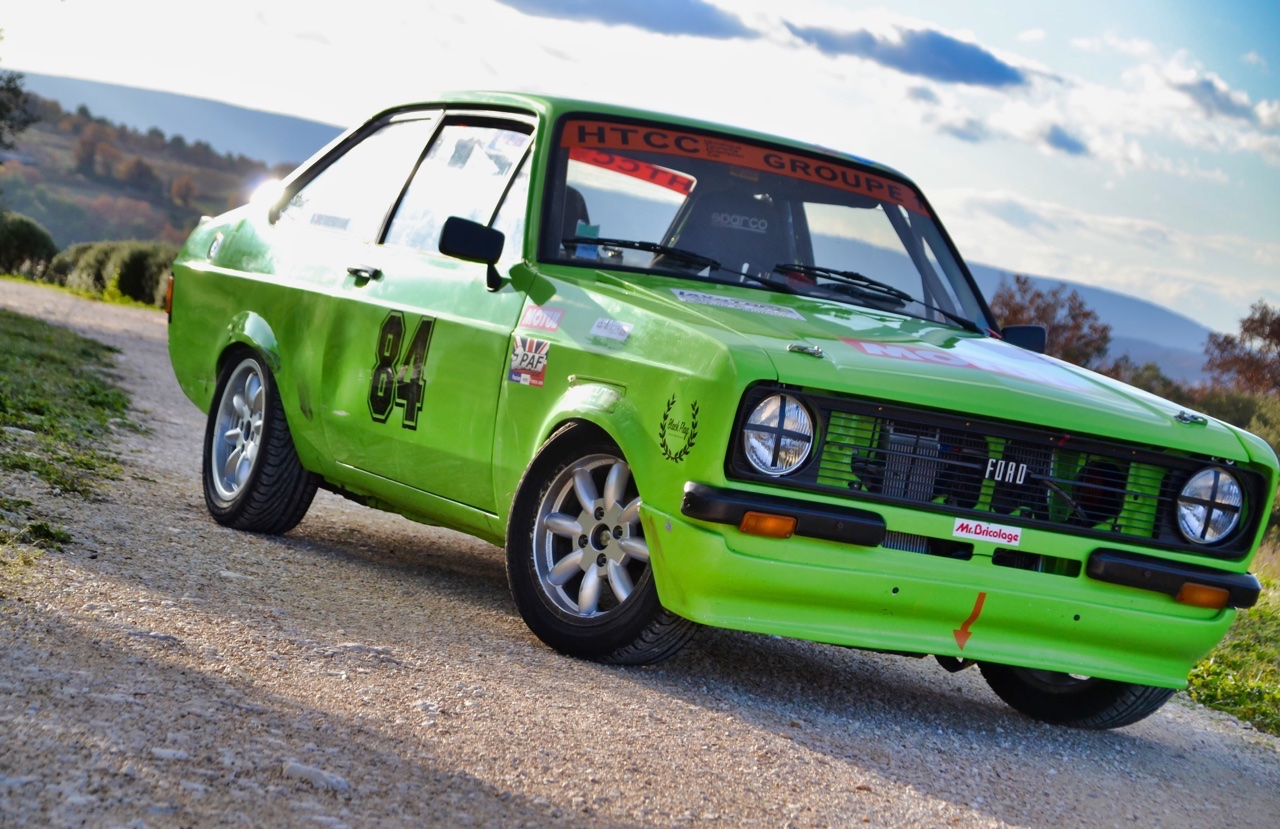 '76 Ford Escort RS2000 MkII HTCC - Championne en titre ! 2