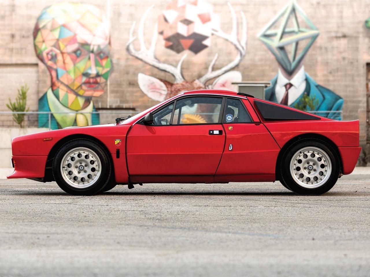 Lancia 037 Stradale... 100% Course ! 21