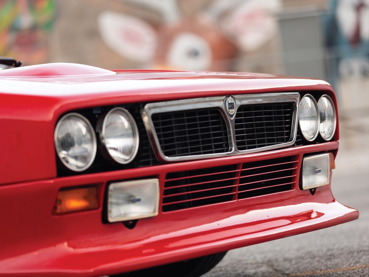 Lancia 037 Stradale... 100% Course ! 1