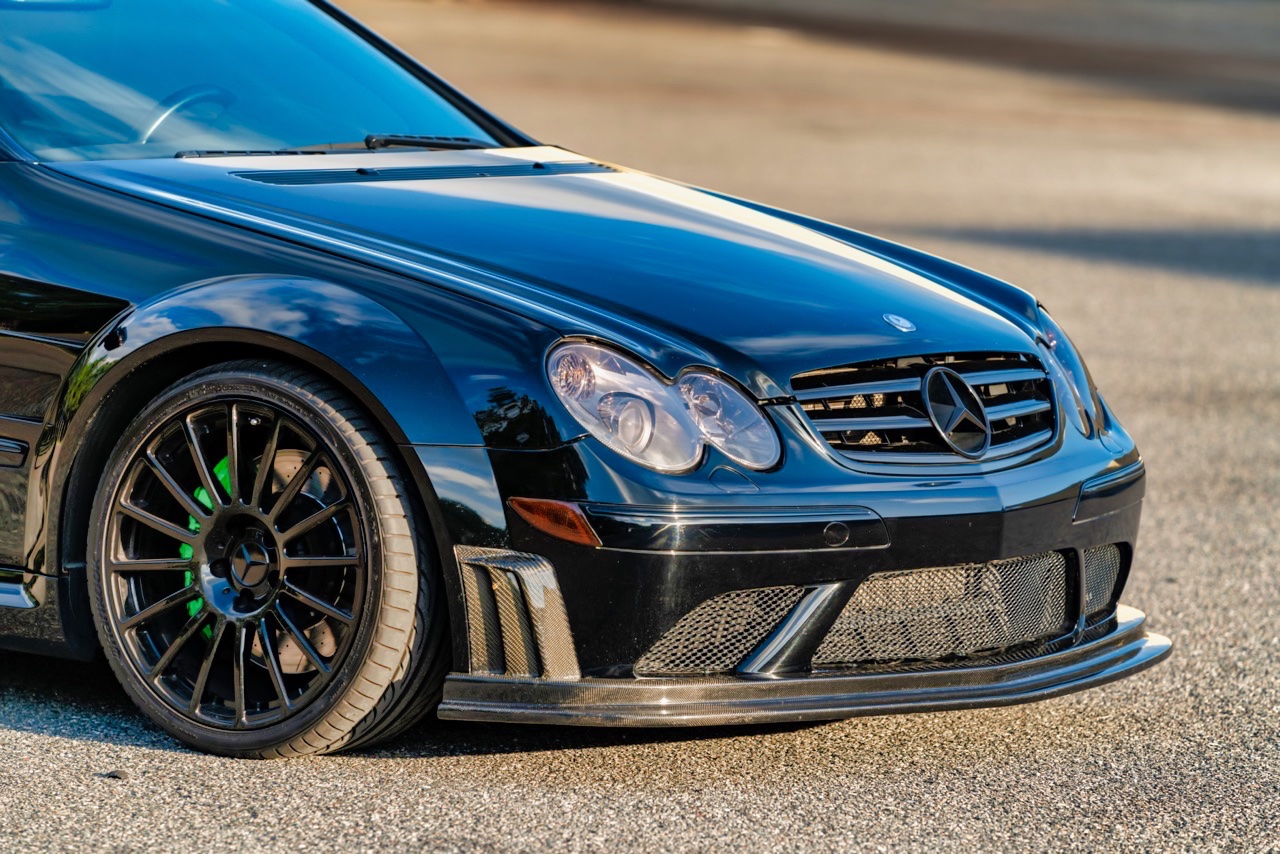 Mercedes CLK 63 AMG Black Series - Enervée ! 1