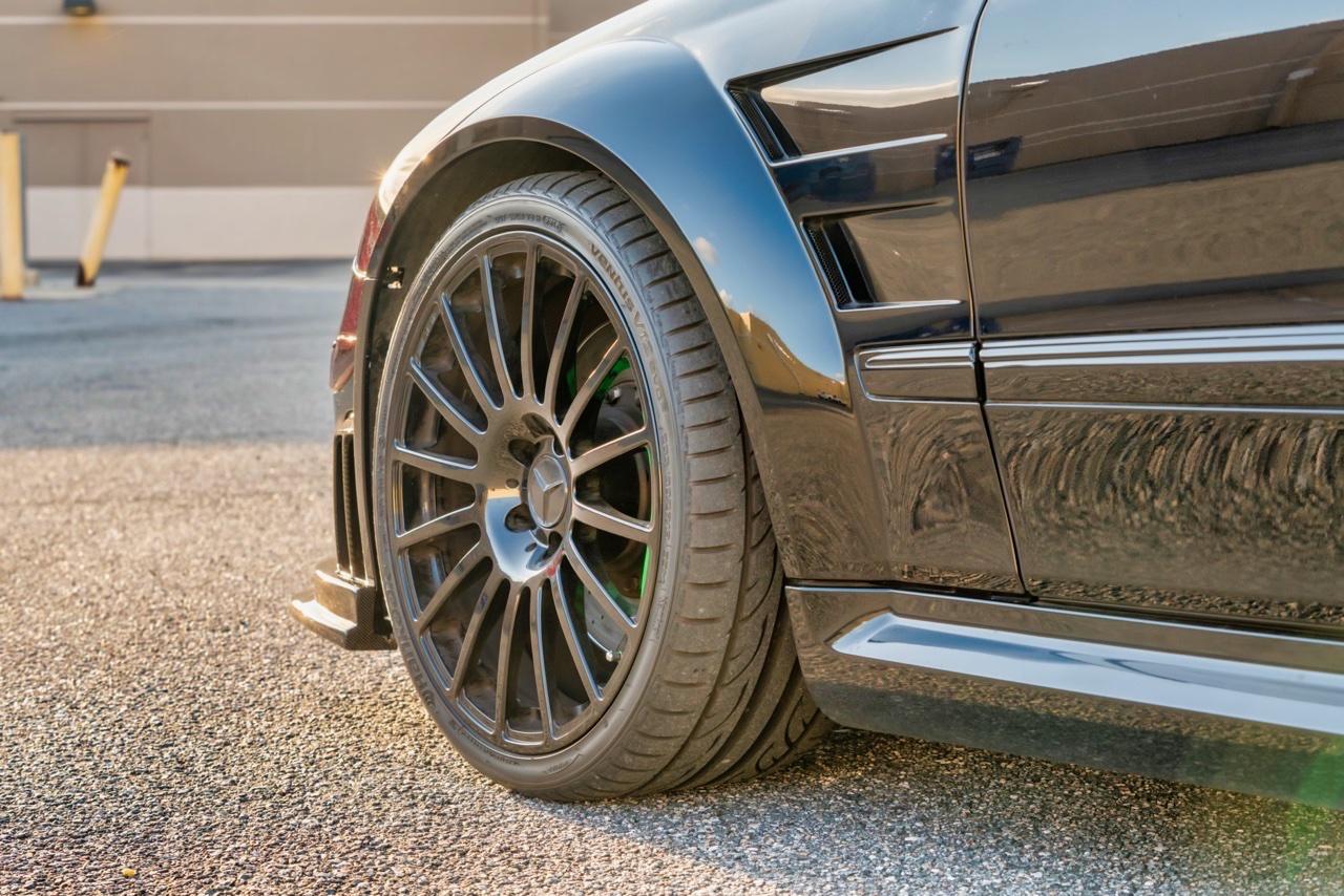 Mercedes CLK 63 AMG Black Series - Enervée ! 2