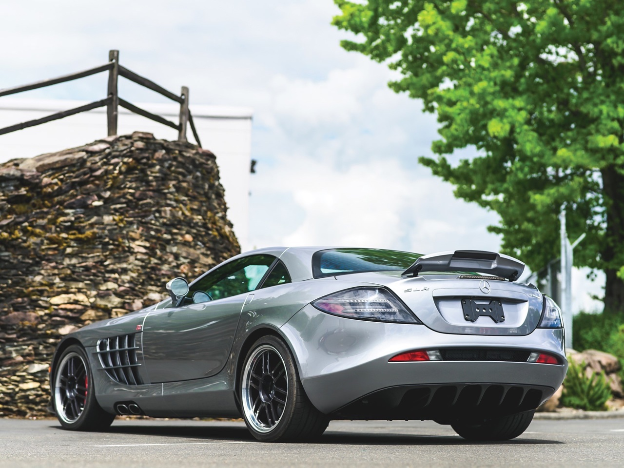 Mercedes SLR McLaren Stirling Moss - Bouquet final ! 15