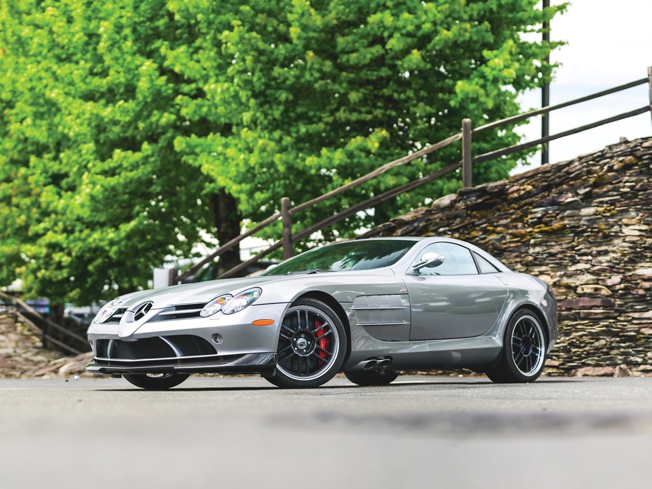 Mercedes SLR McLaren Stirling Moss - Bouquet final ! 14