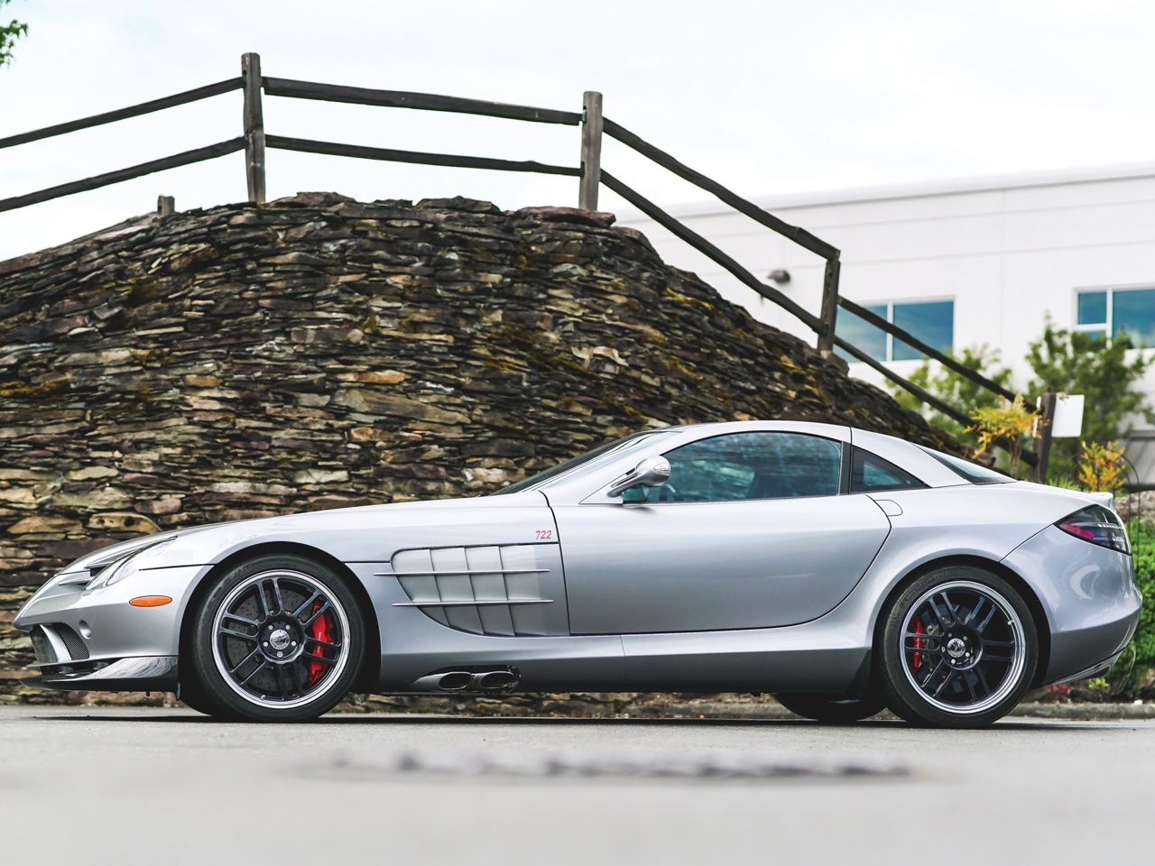 Mercedes SLR McLaren Stirling Moss - Bouquet final ! 10