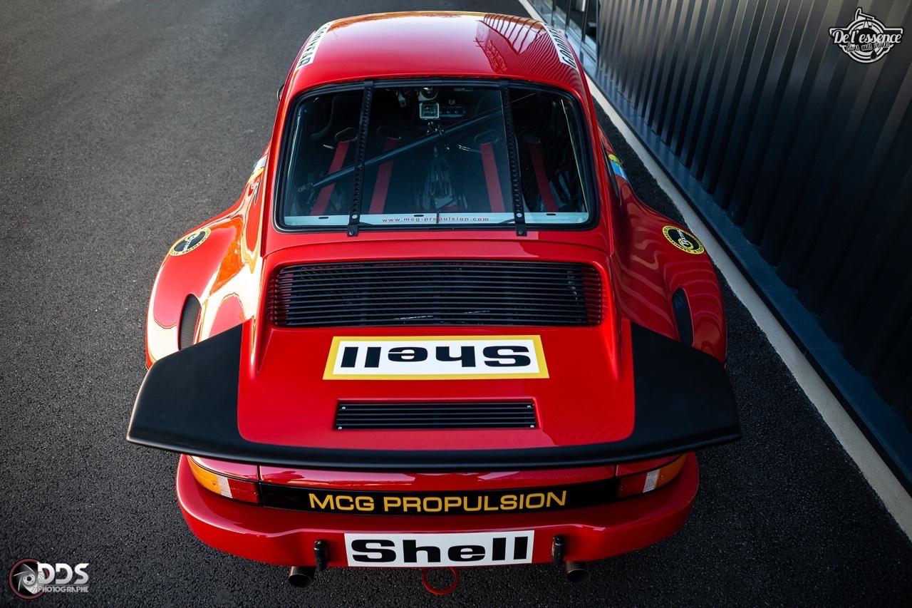 Porsche 911 RSR - 50% restomod, 50% course, 100% MCG Propulsion 43