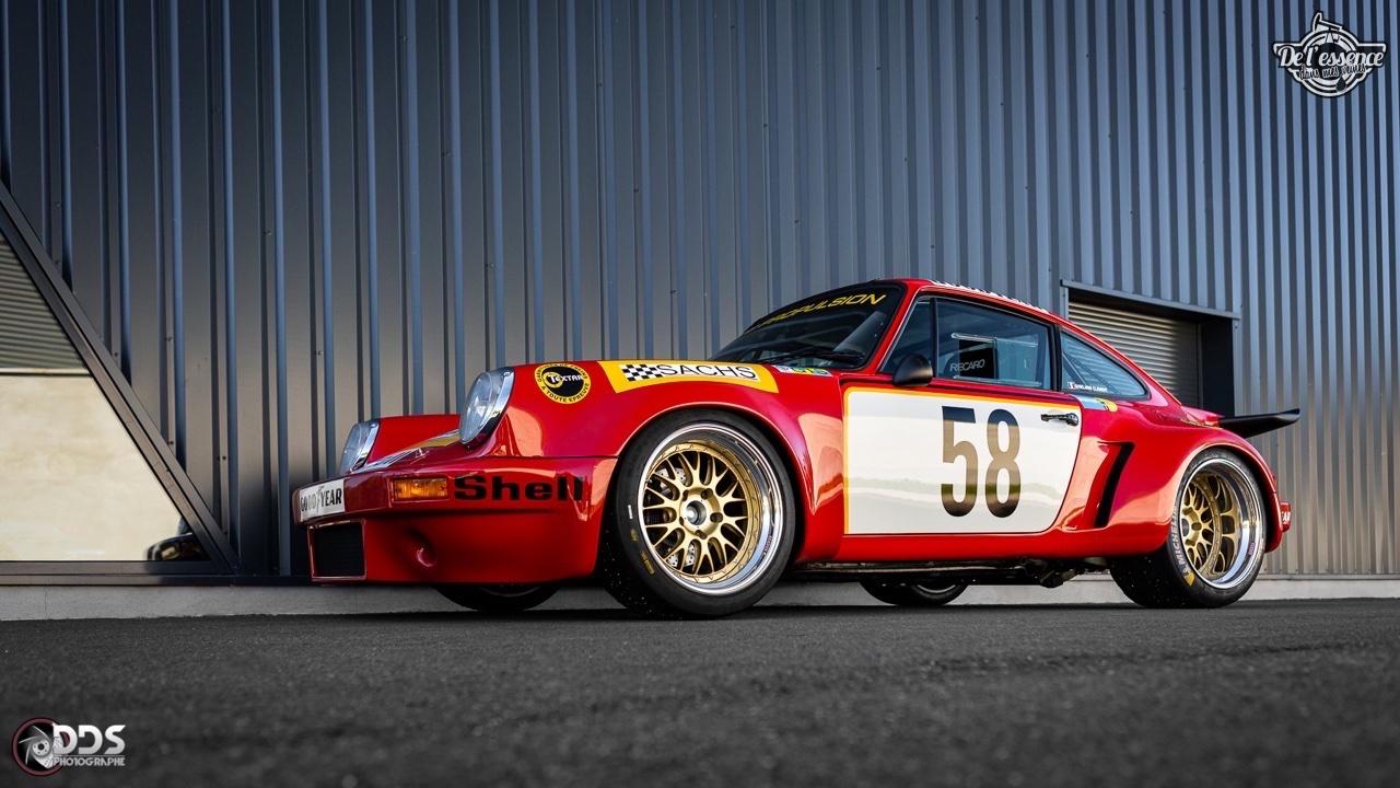 Porsche 911 RSR - 50% restomod, 50% course, 100% MCG Propulsion 14