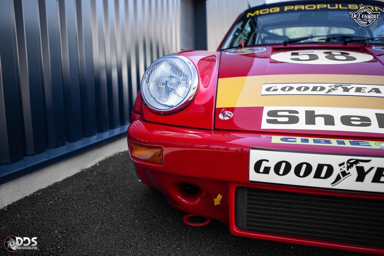 Porsche 911 RSR - 50% restomod, 50% course, 100% MCG Propulsion 34