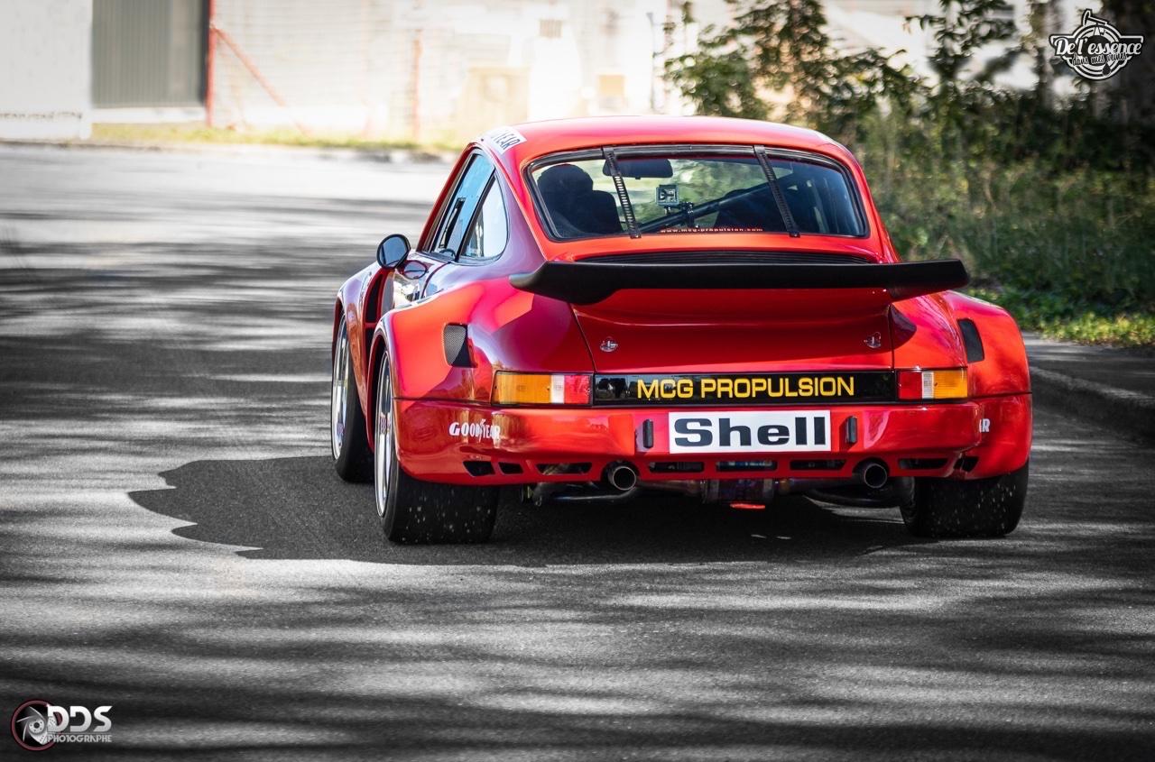 Porsche 911 RSR - 50% restomod, 50% course, 100% MCG Propulsion 12