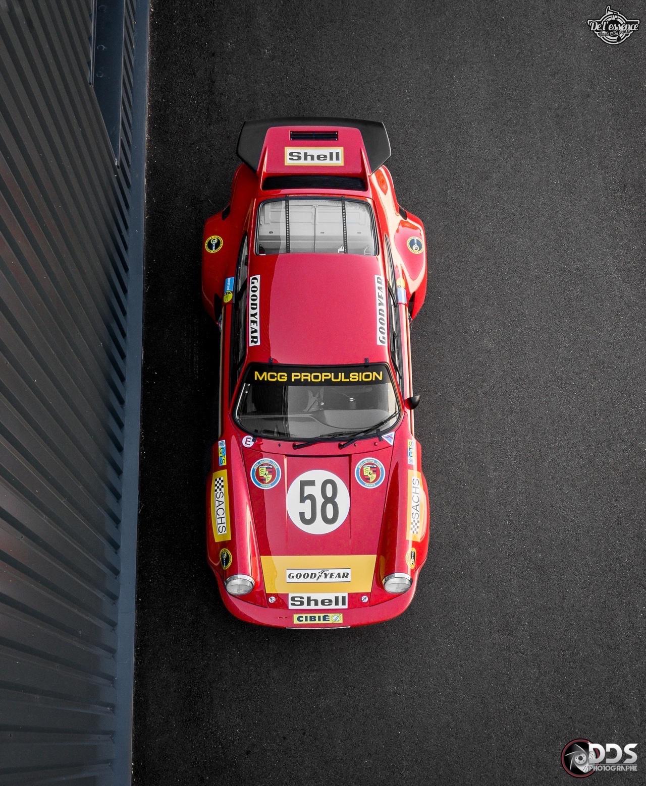 Porsche 911 RSR - 50% restomod, 50% course, 100% MCG Propulsion 2