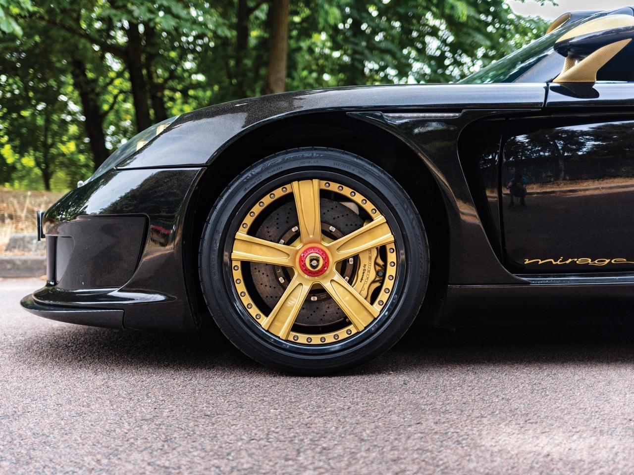 Porsche Carrera GT -> Gemballa Mirage GT Gold Edition : La caisse à Samuel ! 6