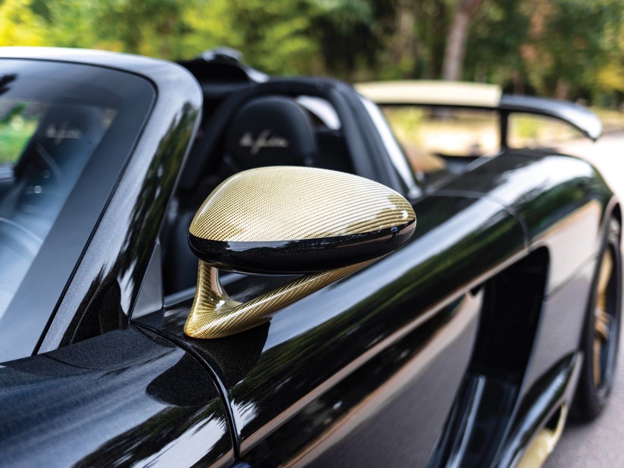 Porsche Carrera GT -> Gemballa Mirage GT Gold Edition : La caisse à Samuel ! 7