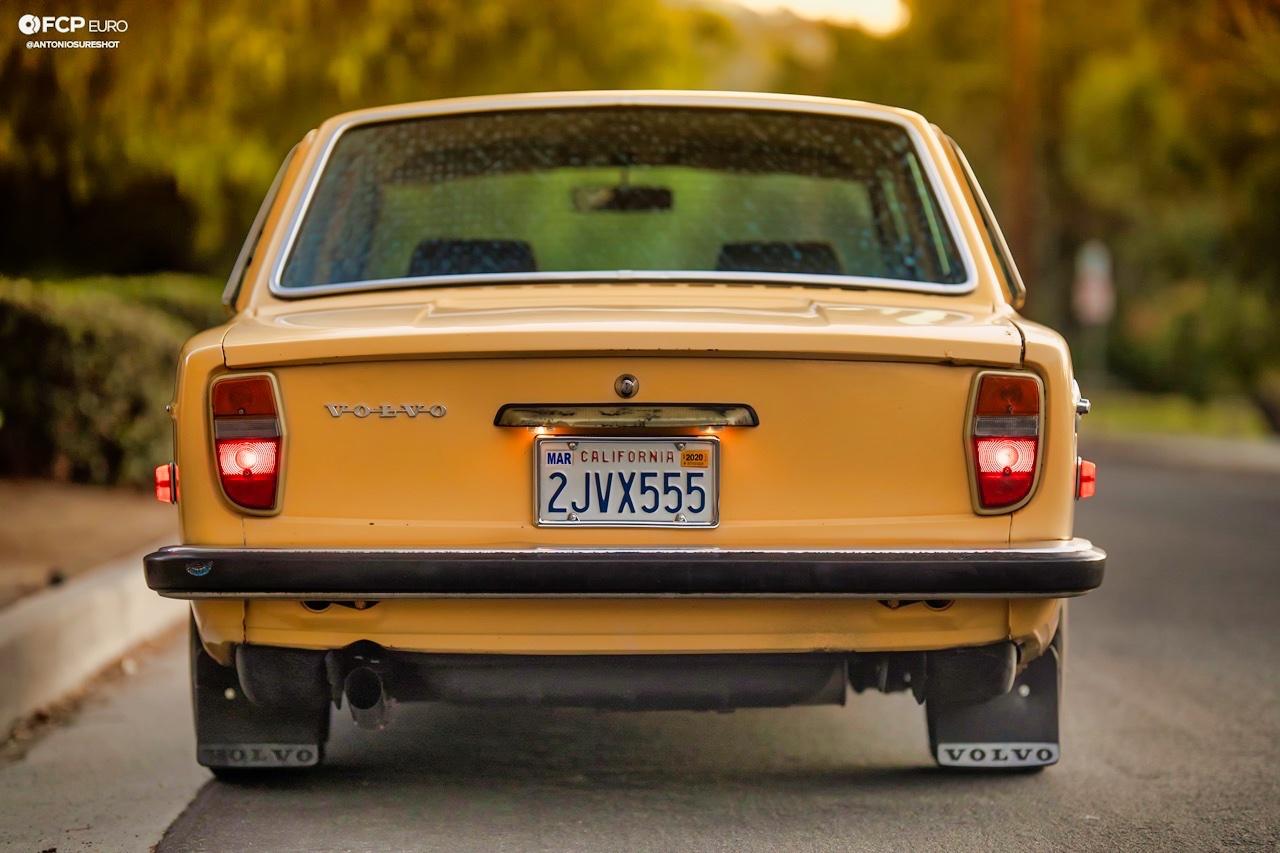 '72 Volvo 140 S - Même une brique peut être cool ! 3