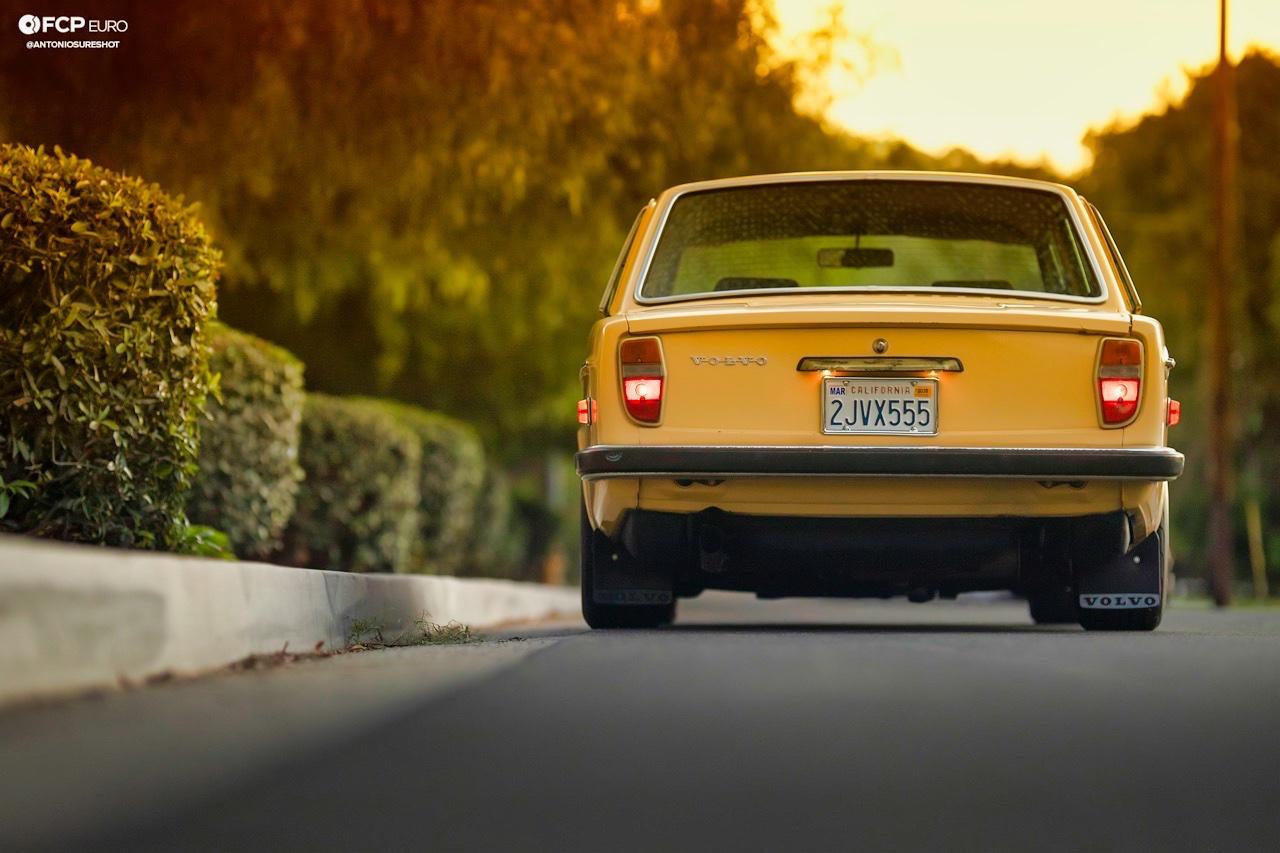 '72 Volvo 140 S - Même une brique peut être cool ! 7