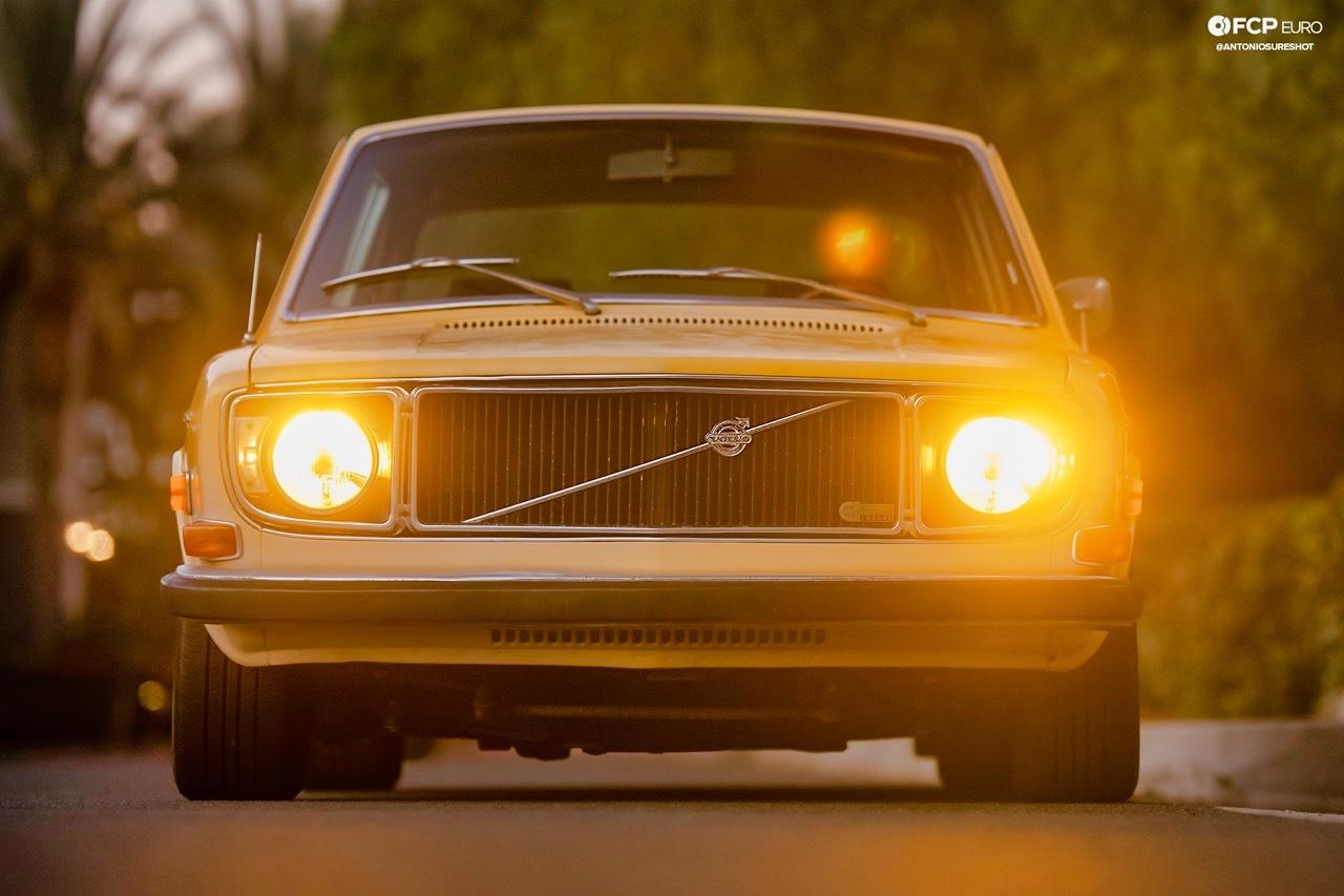 '72 Volvo 140 S - Même une brique peut être cool ! 2