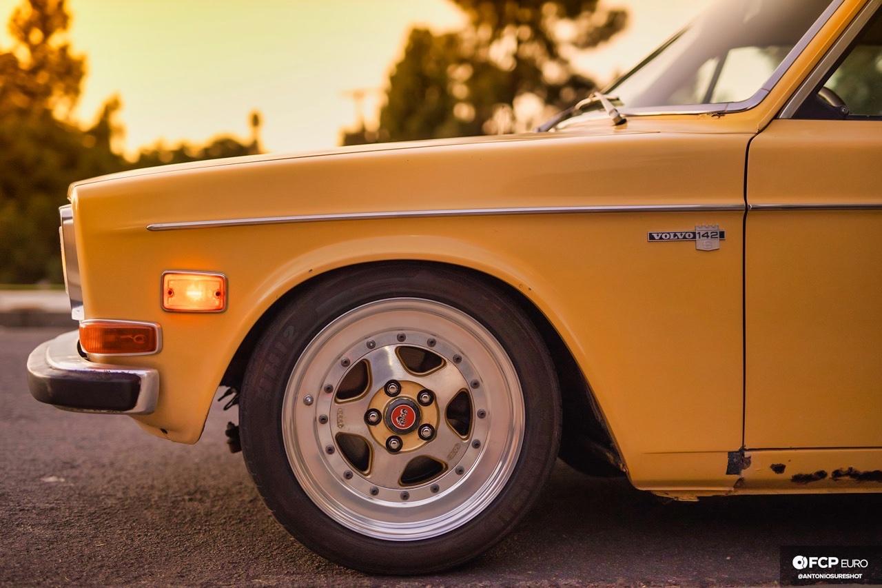 '72 Volvo 140 S - Même une brique peut être cool ! 9