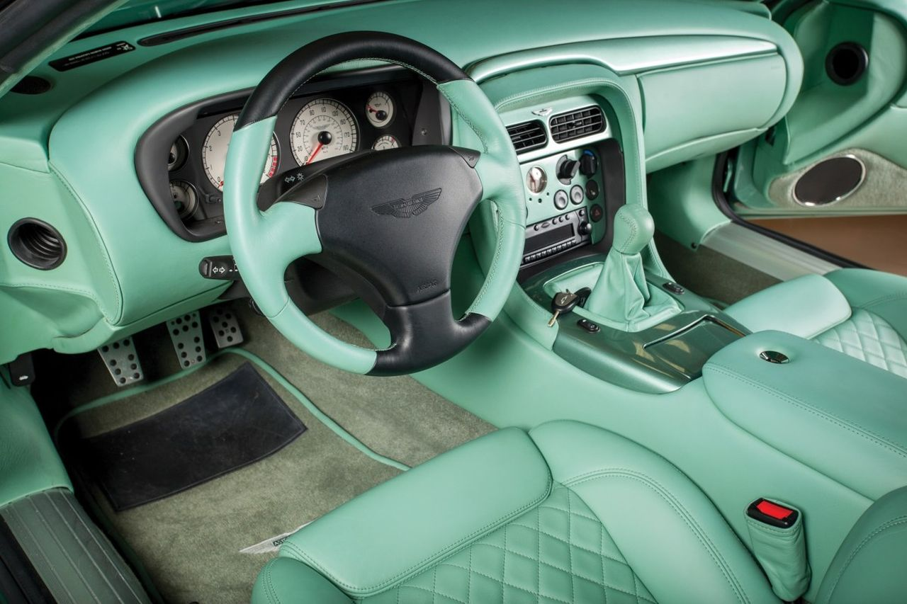 Aston Martin DB7 Zagato - L'autre DB7 ! 37