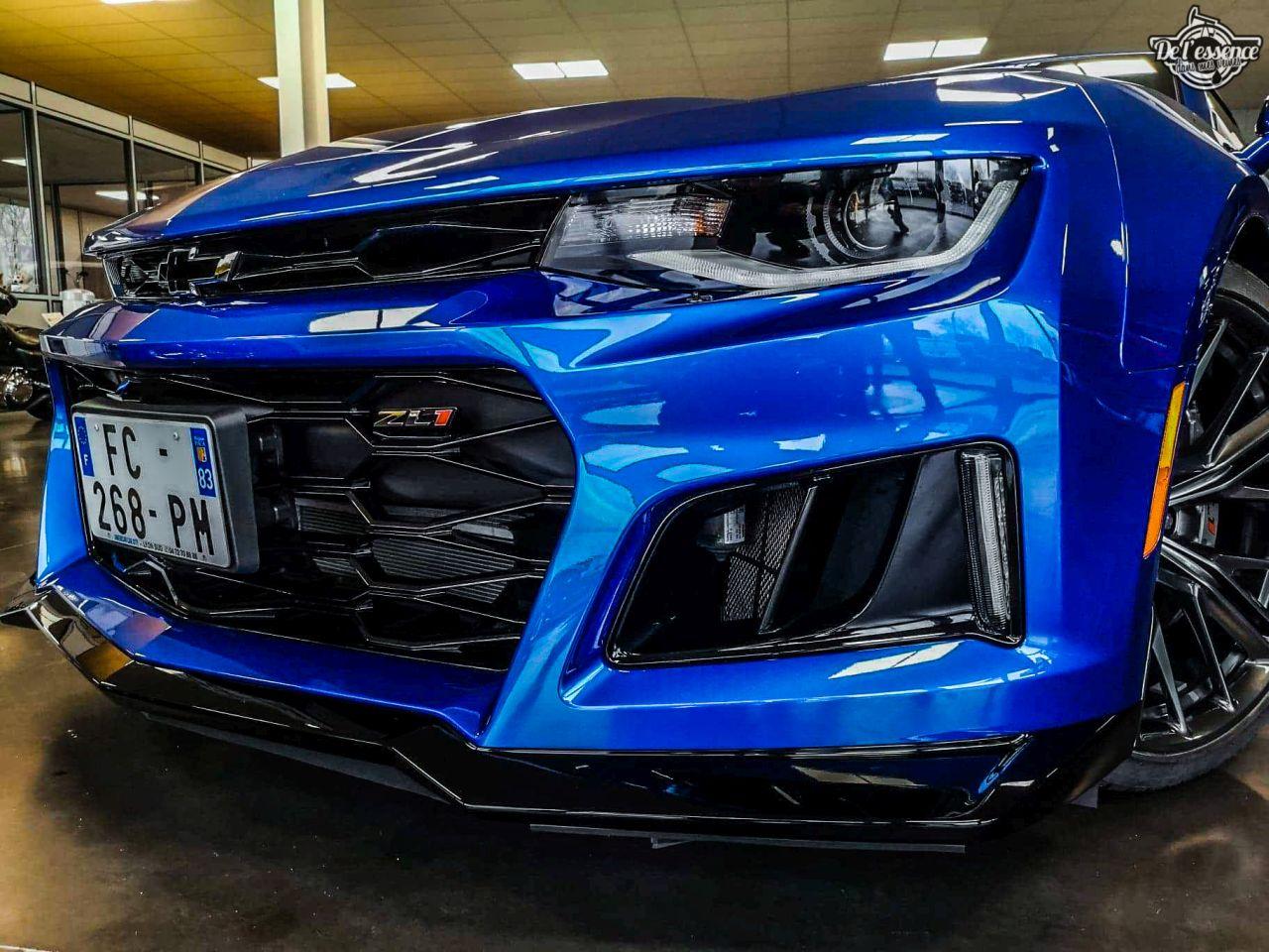 Chevrolet Camaro ZL1 2019 - Elle va vous bouffer ! 13