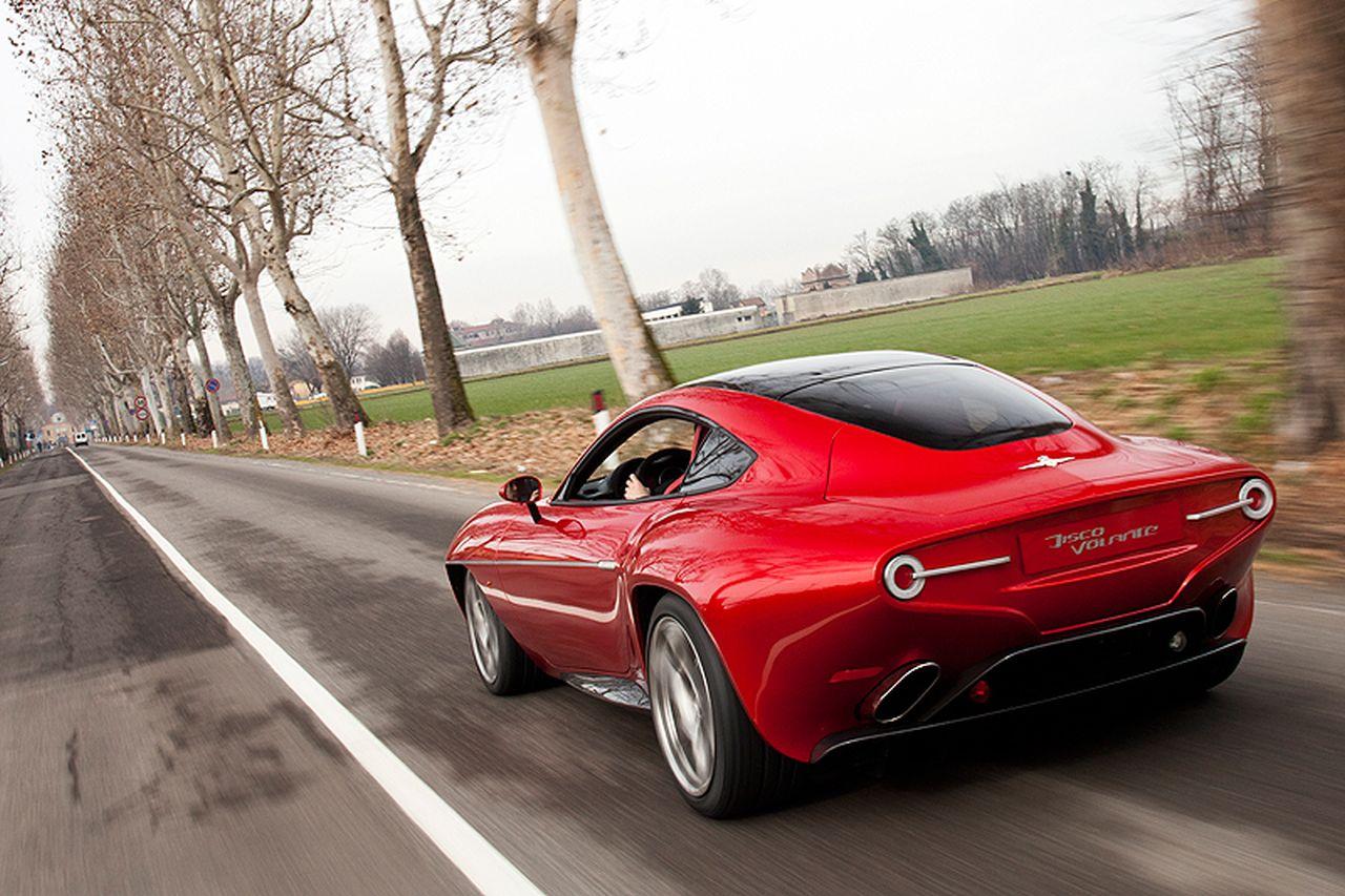 Touring Superleggera Disco Volante - L'Alfa 8C version Miss Univers ! 4