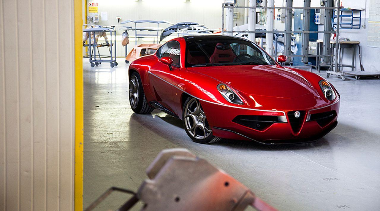 Touring Superleggera Disco Volante - L'Alfa 8C version Miss Univers ! 11