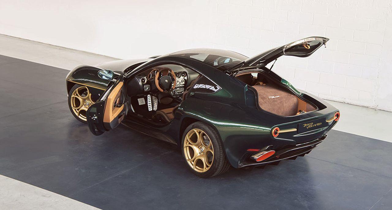 Touring Superleggera Disco Volante - L'Alfa 8C version Miss Univers ! 5