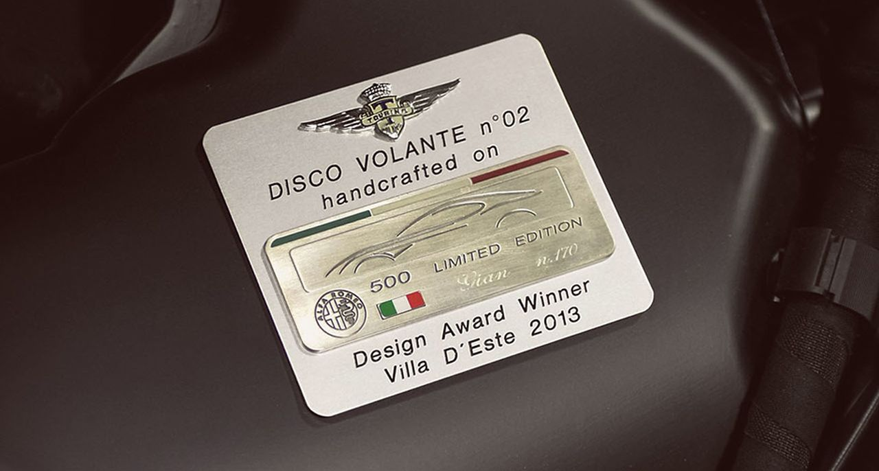 Touring Superleggera Disco Volante - L'Alfa 8C version Miss Univers ! 9