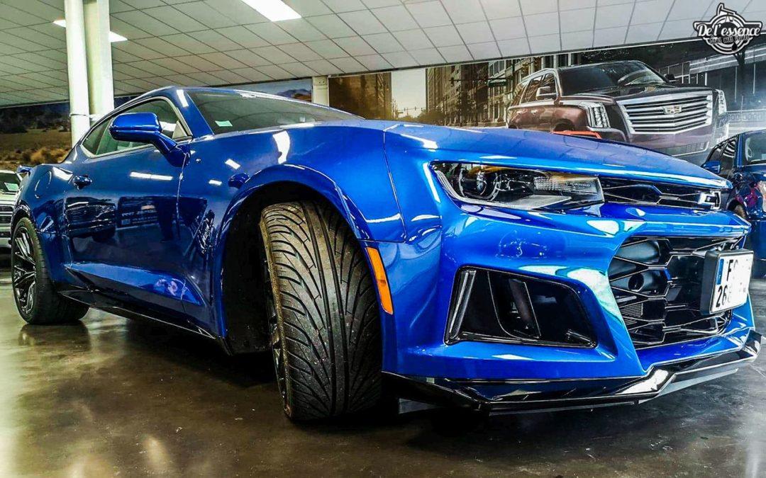 Chevrolet Camaro ZL1 2019 – Elle va vous bouffer !