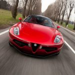 Touring Superleggera Disco Volante - L'Alfa 8C version Miss Univers !